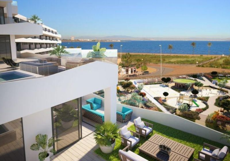 Flat - New Build - La Manga del Mar Menor - 1ª linea