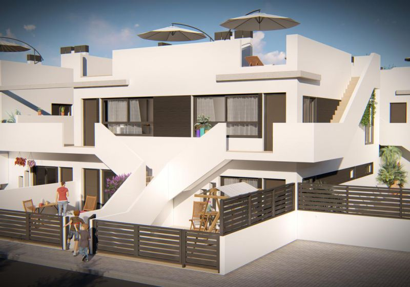 Bungalow - New Build - Pilar de la Horadada - EL MOJON - TORRE HOR